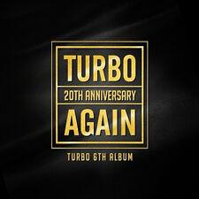 TURBO 20th Anniversary 6Th Album AGAIN K-POP Sealed Kim Jong-Kook Jung-nam Mikey