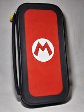 Nintendo Switch Super Mario Travel Case Game Cartridge Carrier Tote Storage Bag