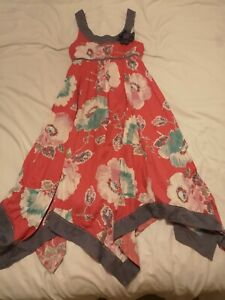 Girls Beautiful Monsoon Floral Summer Dress Age 12-13 Years
