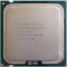 Intel Pentium Dual-Core Processor E2180 1M Cache, 2 GHz, 800 MHz FSB Socket 775