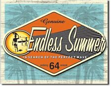 Endless Summer Search Of A Perfect Wave Surf Retro Decor Metal Tin Sign new