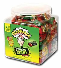 American Warheads Extreme Sour Hard Candy Sealed Tub 240 Pcs Sweets Imported