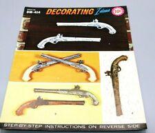 Duncan Ceramic DM - 414 Dueling Pistol Instructions Decorating Ideas One Sheet