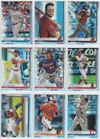 2019 Topps Chrome Baseball Prism Refractor You Pick the Card Finish Your Set