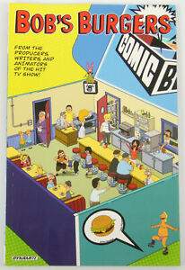 Bob's Burgers TPB #1A VF/NM; Dynamite | comic bento variant -collects #1 2 3 4 5