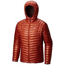 Mountain Hardwear Ghost Whisperer 2 Jacket Men's Large Hooded Down Desert Red UL