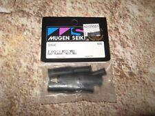 Vintage RC Mugen Seiki Racing Shock Dust Boot Boots Black MBX (4) C0530