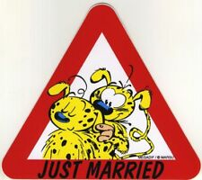 Autocollant Marsupilami (Le) Just married Mégadif