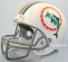 MIAMI DOLPHINS (1972 Throwback) Riddell Deluxe REPLICA Helmet