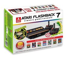 Atari Flashback 7 Special Edition deluxe 2016, 101 built-in games!