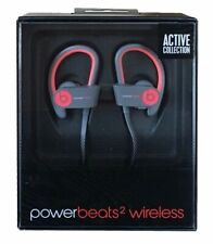 Beats Dr Dre Powerbeats 2 Wireless Active Collection MKPY2AM/A Red Ear Headphone