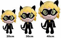 Morbido Peluche Miraculous Ladybug Chat Noir 20,30,40cm  Bambola Bambini