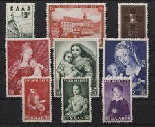 Saarland 1954 komplett 348 349 350 351-353 354-356 postfrisch (B03581)
