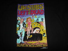 The U.K. UK SUBS Left For Dead Alive In Holland 1986 Cover NEW 2XL RaRe T SHIRT