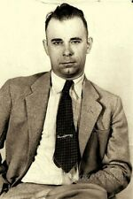"1930's John Dillinger MUGSHOT Public Enemy Number One 4""x6"" Reprint Photograph"