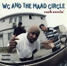 WC AND THE MAAD CIRCLE - Curb Servin' (Promo) Clean CD [A205]