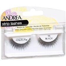 10 Pairs Andrea Modlash 15 False Eyelashes Strip Lashes Black 61924