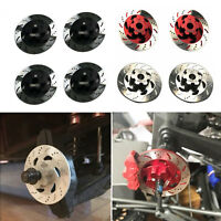 4pcs Aluminum Brake Disc Drive Hub For 1/7 RC TRAXXAS UDR Unlimited Desert Racer