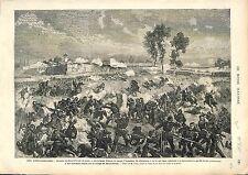 Bataille de Saint-Privat d'Amanvillers Gravelotte GUERRE 1870-1871  FRANCE 1874