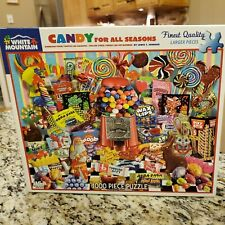 White Mountain Candy For All Seasons Jigsaw Puzzle 24 X 30
