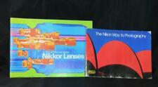 Nikon Nikkor Nikkormat Lenses Way Product Advertisment Camera Instruction Manual