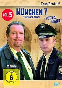 3 DVDs * MÜNCHEN 7 - STAFFEL 5  -  GIEBEL , KINSEHER # NEU OVP §