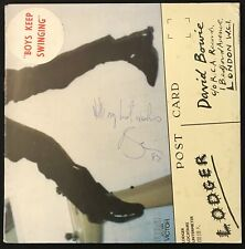 "David Bowie signed ""Lodger"" Album 1982 New Zealand"