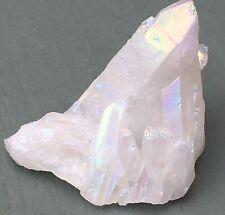 68g 5.5cm Angel Opal aura AAA Grade Quartz Cluster Chunk Reiki Chakra Pagan