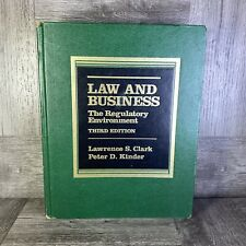 law and business the regulatory environment third edition Lawrence Clark