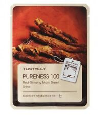 TONY MOLY PURENESS 100 RED GINSENG MASK SHEET **UK SELLER** KOREAN COSMETICS