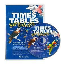 Times Table CD Singalong. Learn maths. Exciting way to learn and have FUN