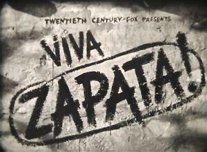 16mm Feature- VIVA ZAPATA!- 1952-Marlon Brando-Original-