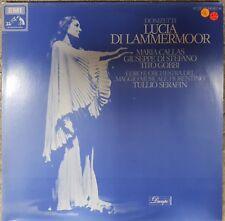 Silla Gaetano Donizetti Lucia di Lammermoor Inc Maria Callas Vinilo Lp