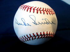 DUKE SNIDER - AUTOGRAPHED BASEBALL - NO AUTHENTICITY