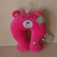Teddy Bear Travel Pillow Cushion Neck Rest Support Head Kids Toddler BL PK 0 NW