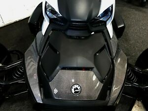 Fit Can-Am RYKER BRP 2019 Dry CARBON FIBER Front fairing Accent trim kit