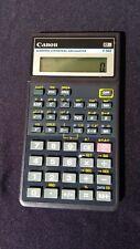 Canon F-502 Scientific Statistical Calculator W/ Cover