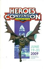 Heroes Con 2009 Program Book Bagley Batman Charlotte Cover Convention #27 NM/M
