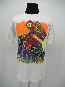 P5639 VTG Dan Koch #6 Concordia Kansas Racing T Shirt Size L