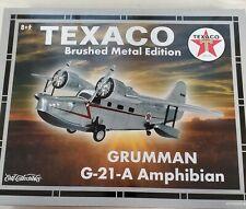 ERTL WINGS OF TEXACO #16 GRUMMAN G-21-A AMPHIBIAN BRUSH METAL EDITION BANK