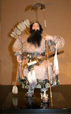 "Vintage Japanese Jimmu Tenno 1st Emperor Hina Doll 19"" Rare (c.1970)"