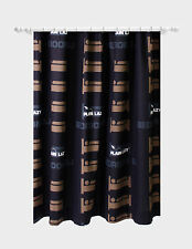Plain Lazy Bedroom DJ Black Ready Made Curtains Pencil Pleat 66 X 54 OFFICIAL
