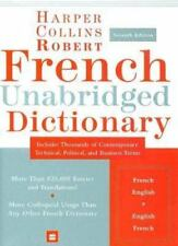 HarperCollins Robert French Unabridged Dictionary -- Unread -- Free Shipping