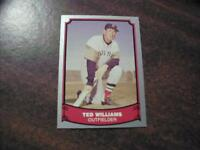 TED WILLIAMS , BOSTON RED SOX 1988 PACIFIC BASEBALL LEGENDS CARD 50