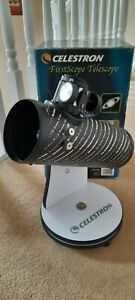 Celestron First Scope Telescope 76mm Coat Optics Model 21024 First Scope Used