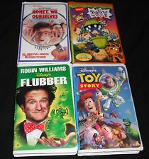 4 VHS KIDS MOVIES