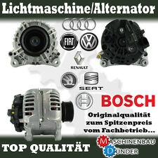 VW AUDI SEAT SKODA LICHTMASCHINE ALTERNATOR 120A ORIGINAL BOSCH !!!