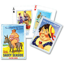 Saucy Seaside - Quality Piatnik Playing Cards - New & Sealed