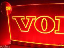 24V LED Cabin Interior Light Plate Red Volvo Truck Neon Illuminating Table Sign
