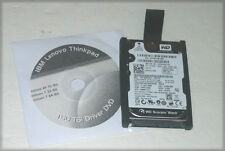 IBM Thinkpad T60 T61 160GB SATA 7200rpm Hard Drive with Caddy and Driver DVD
